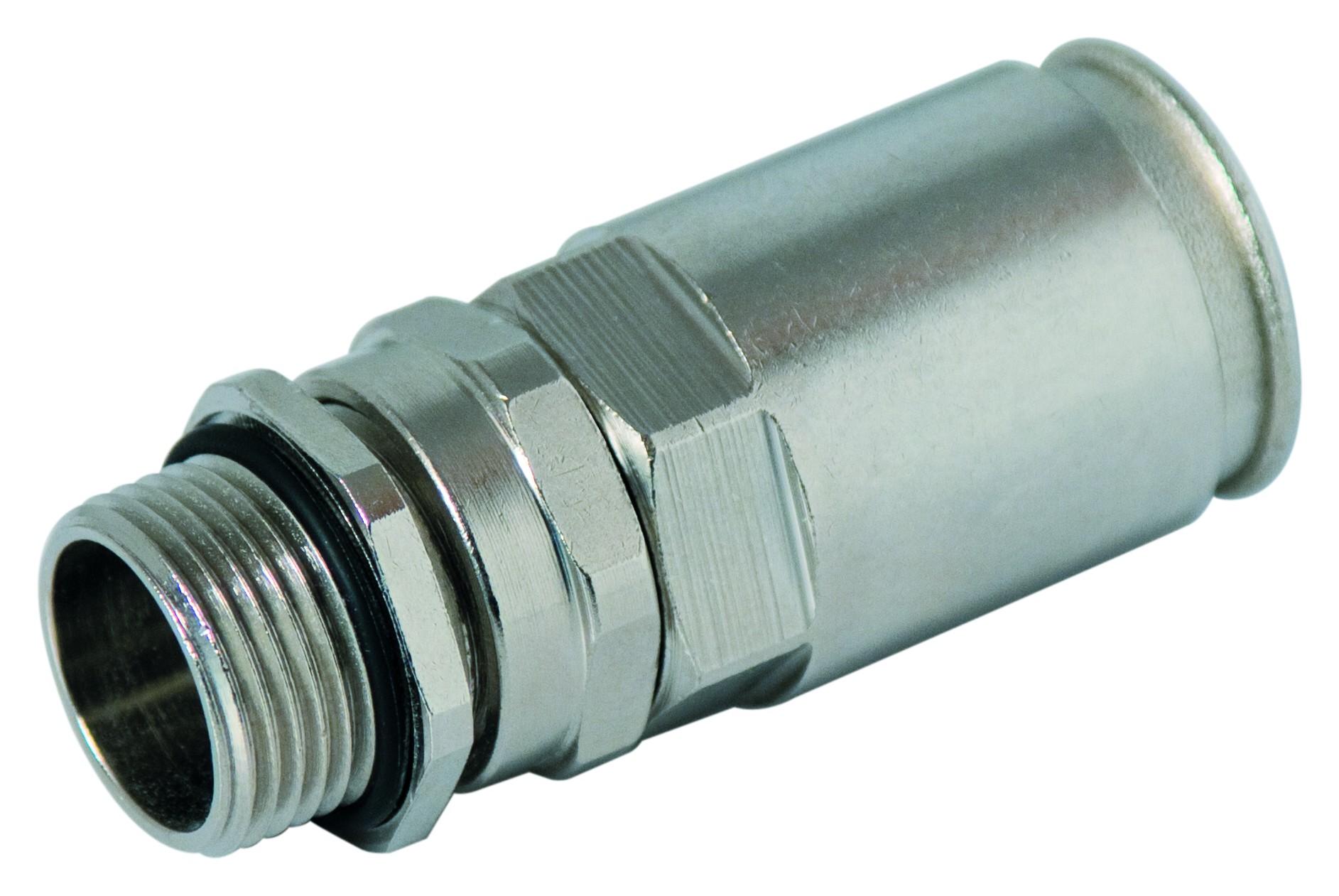 Raccordi pressacavo per tubi metallici rigidi for Raccordi per tubi scaldabagno